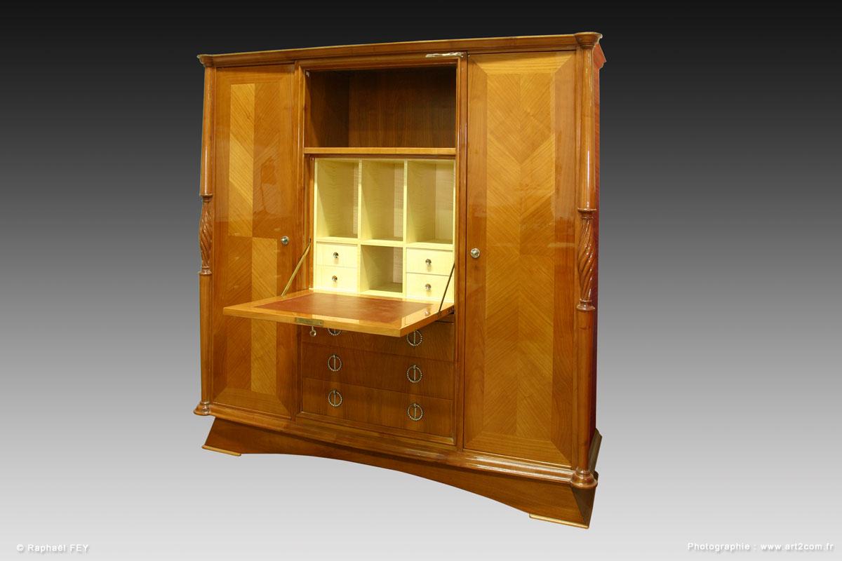 Artz sp cialiste art d co lustres vases coupes meubles for Meuble secretaire