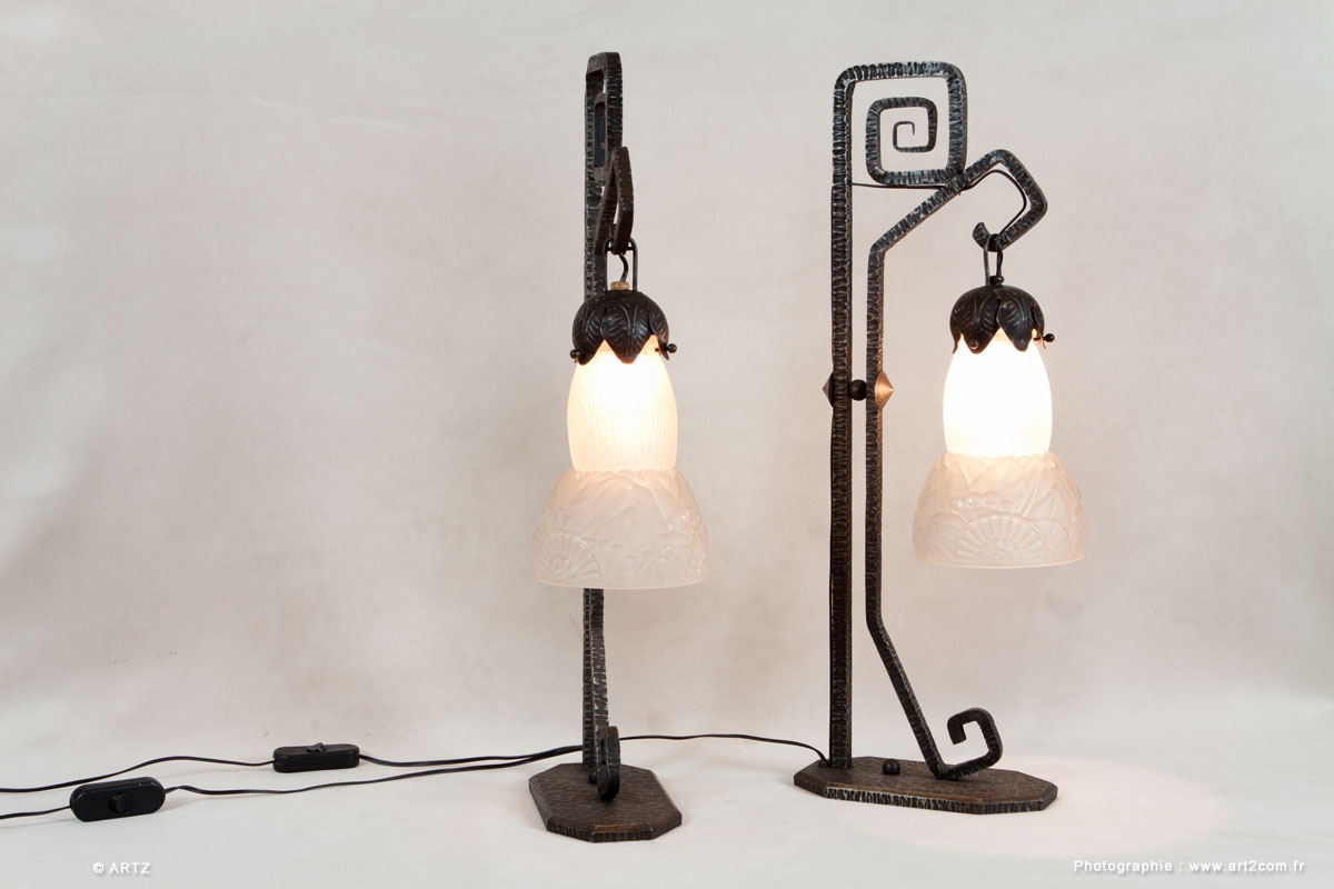 Lampes DELATTE NANCY