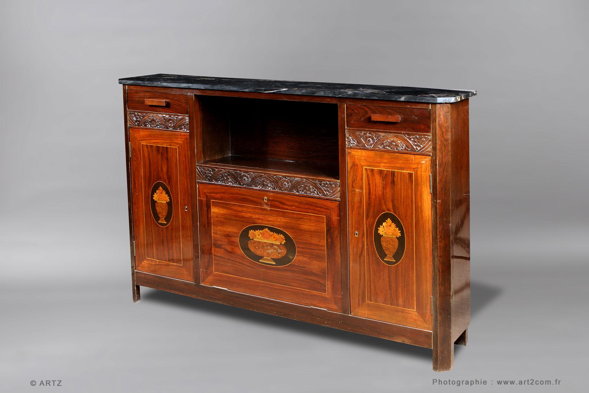 ARTZ spécialiste art déco, lustres, vases, coupes, meubles, bronzes ...