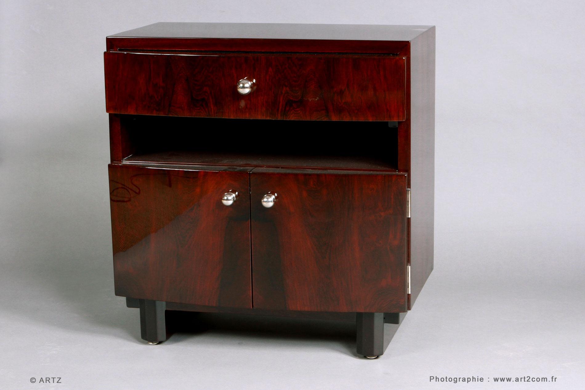 Artz sp cialiste art d co lustres vases coupes meubles - Table de chevet largeur 30 cm ...