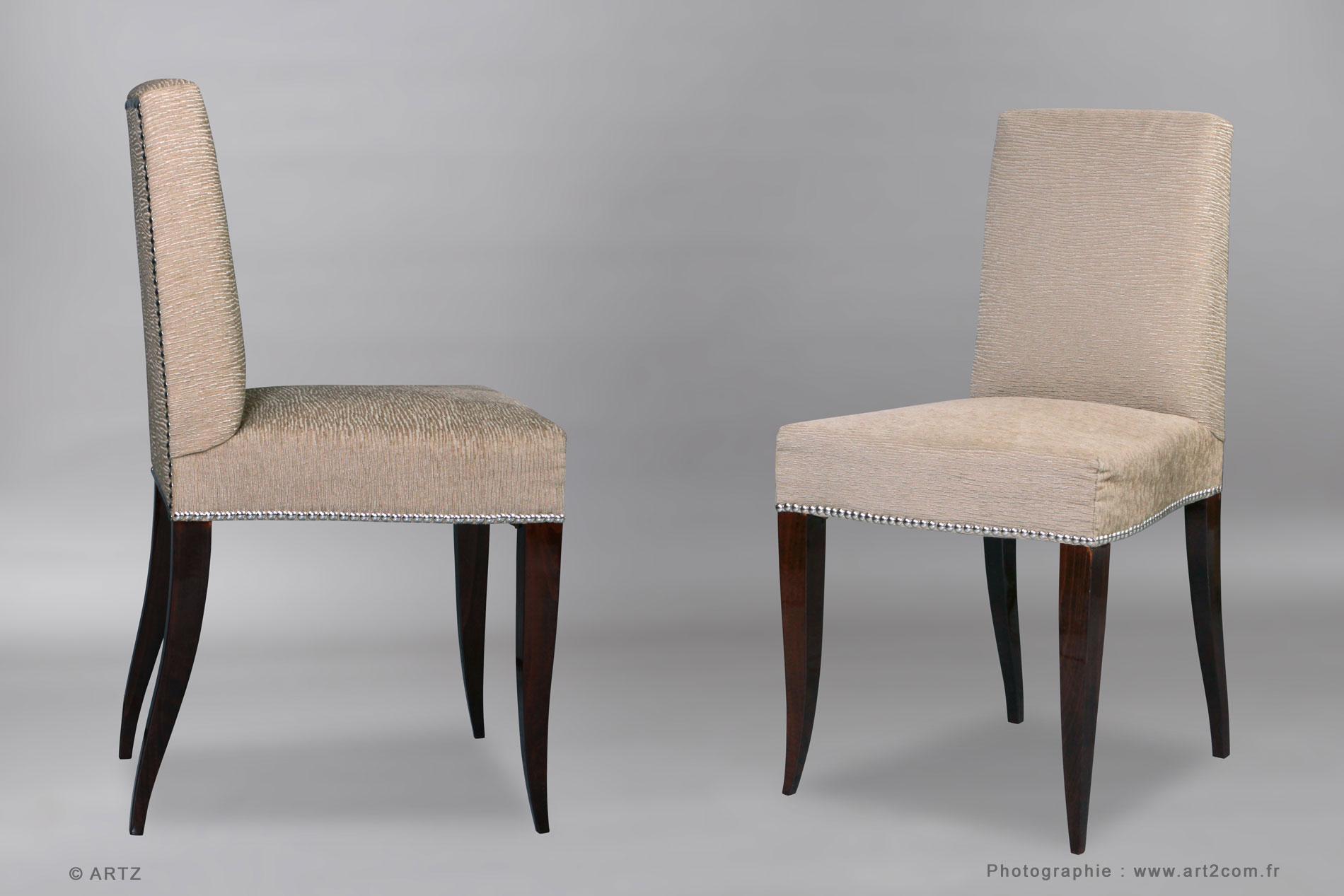 Artz sp cialiste art d co lustres vases coupes meubles for Chaise deco