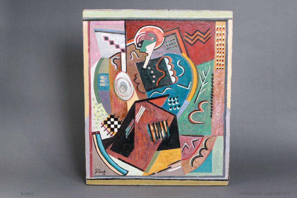 tableau art déco 1930