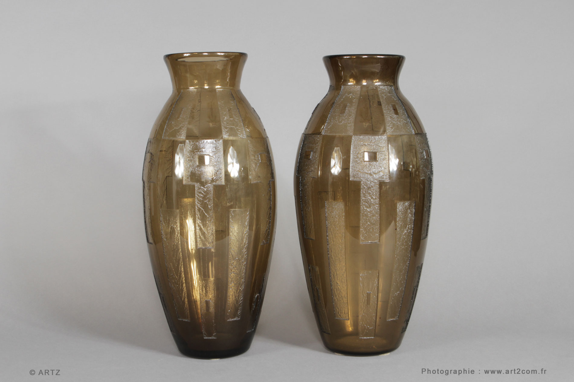 Vases DAUM NANCY
