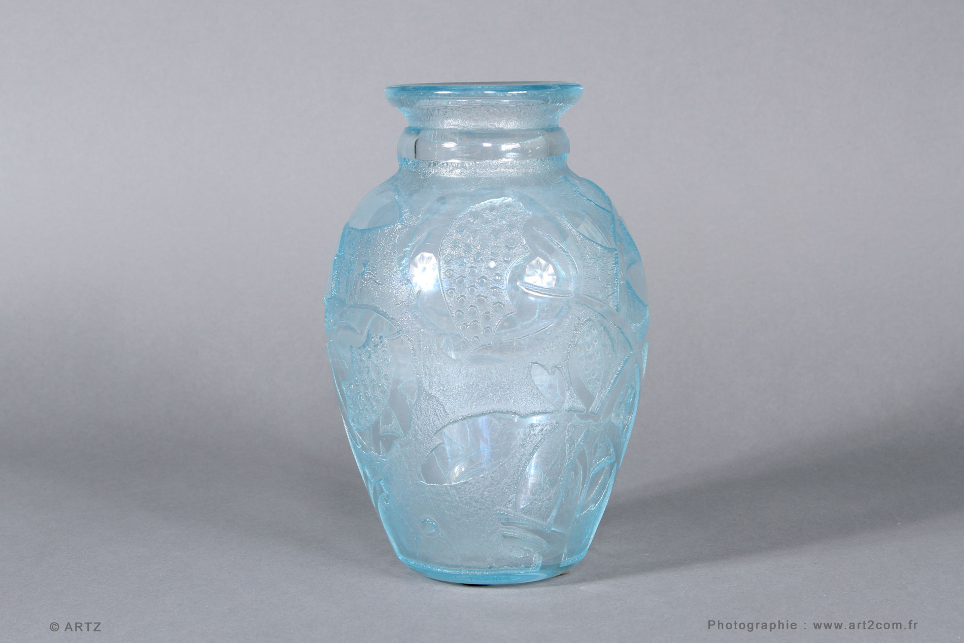 Vase DAUM NANCY